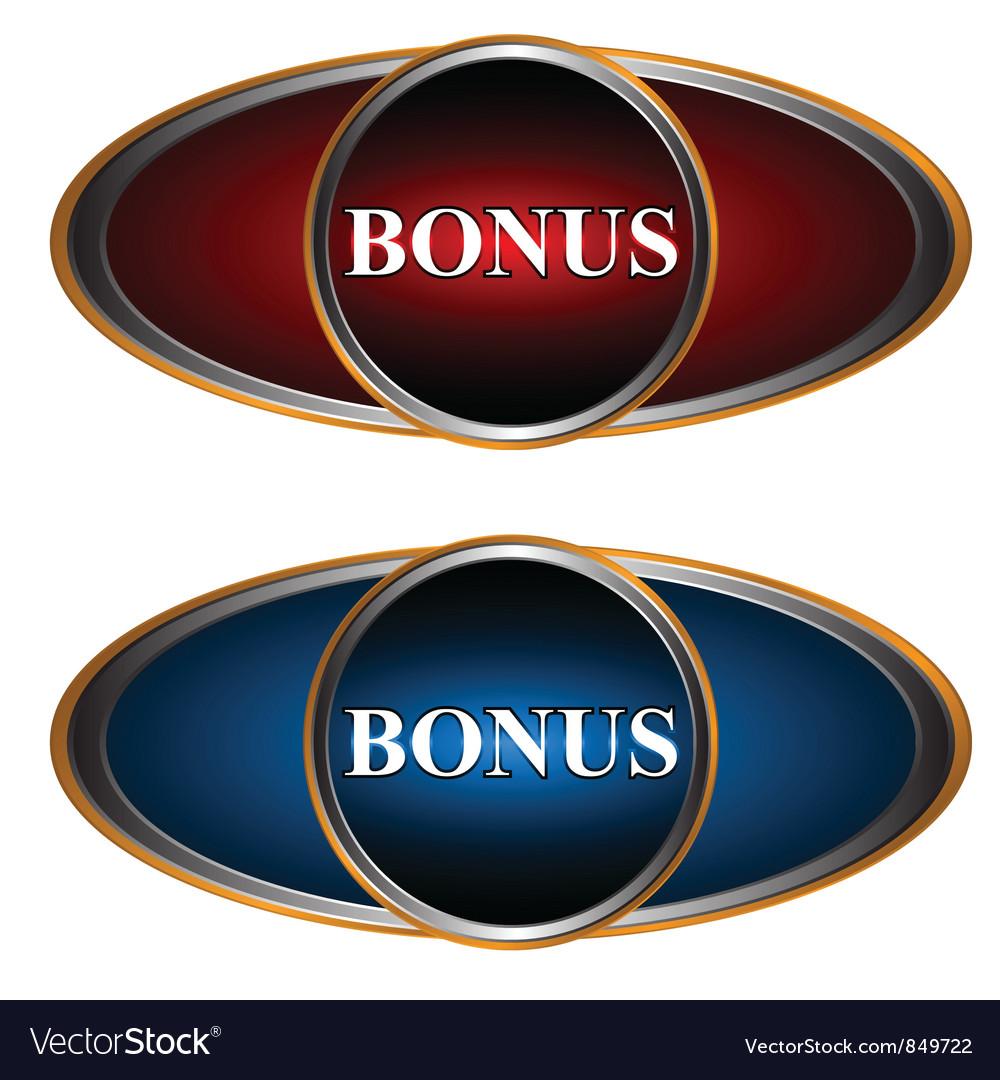 Two bonus icons vector | Price: 1 Credit (USD $1)