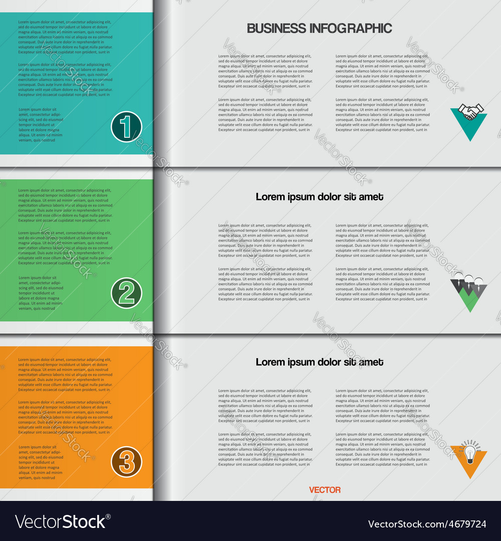 Infographic 3 vector | Price: 3 Credit (USD $3)