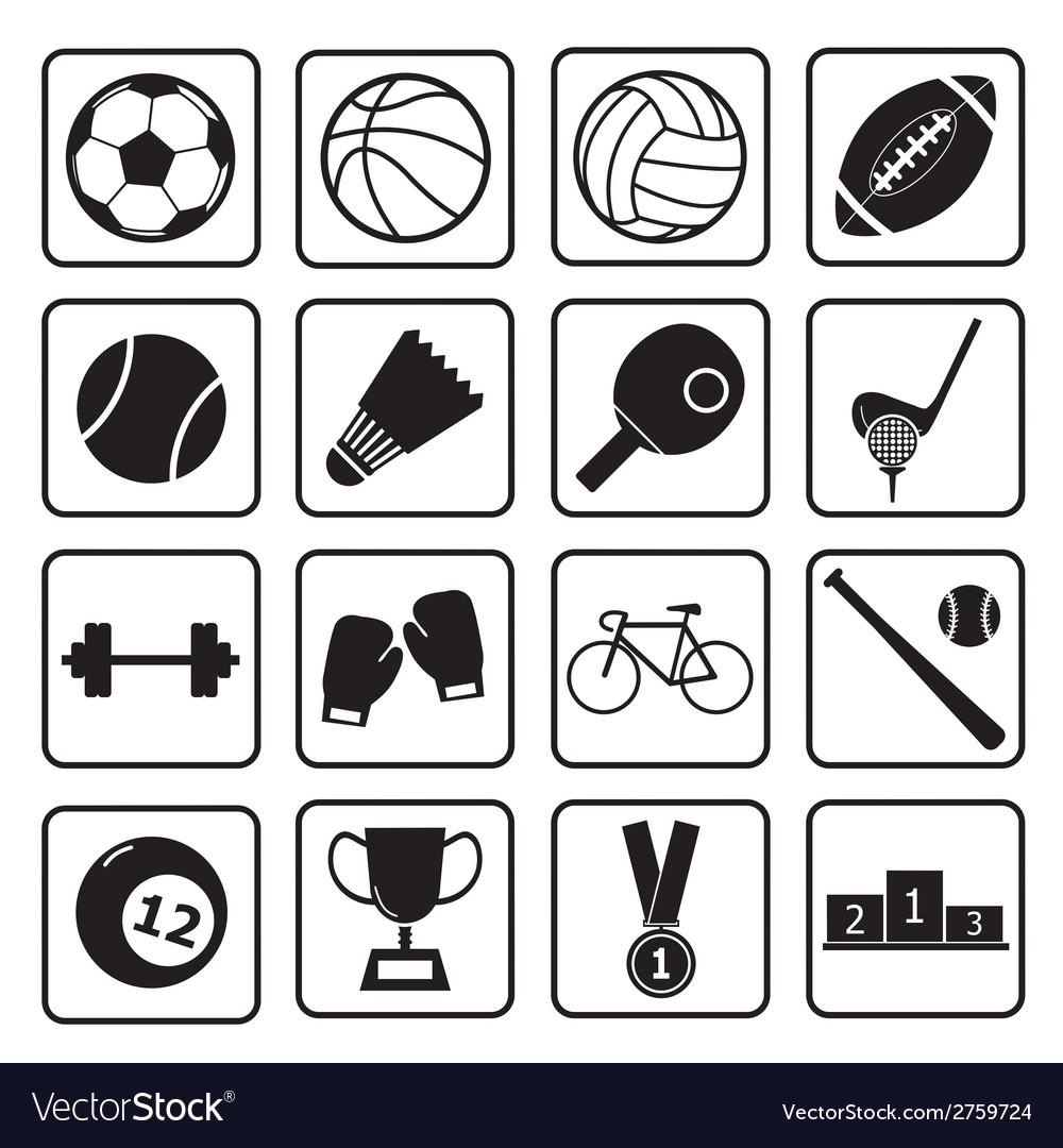 Sport icon vector   Price: 1 Credit (USD $1)