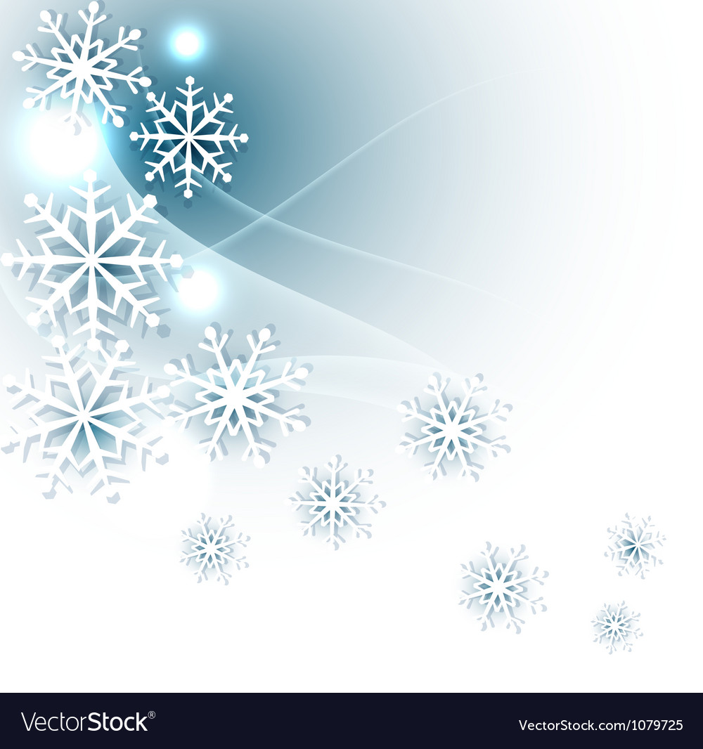 Christmas background with snowflakes vector   Price: 1 Credit (USD $1)