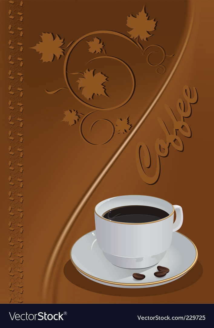 Coffee vector | Price: 3 Credit (USD $3)