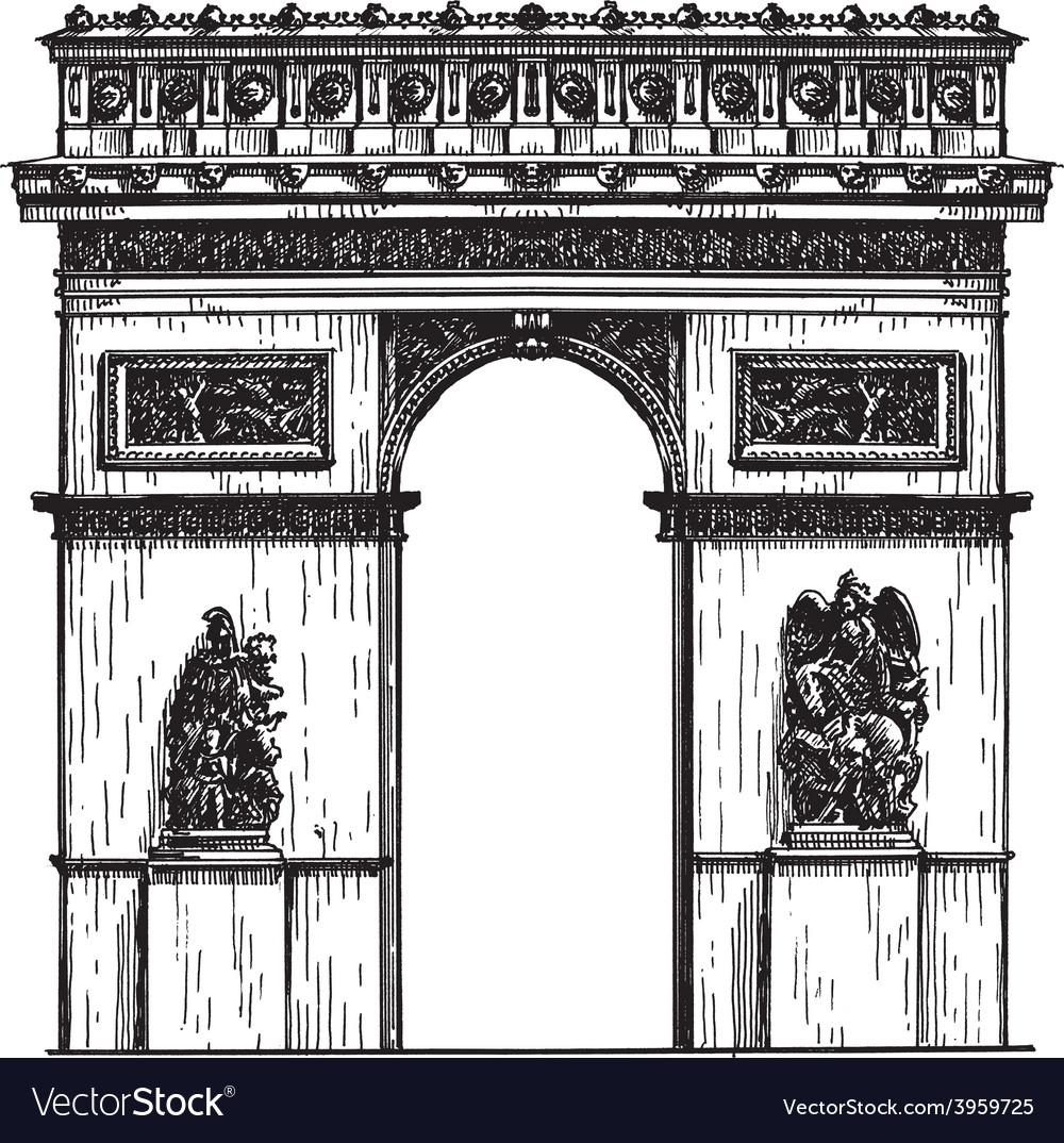 France logo design template paris or vector