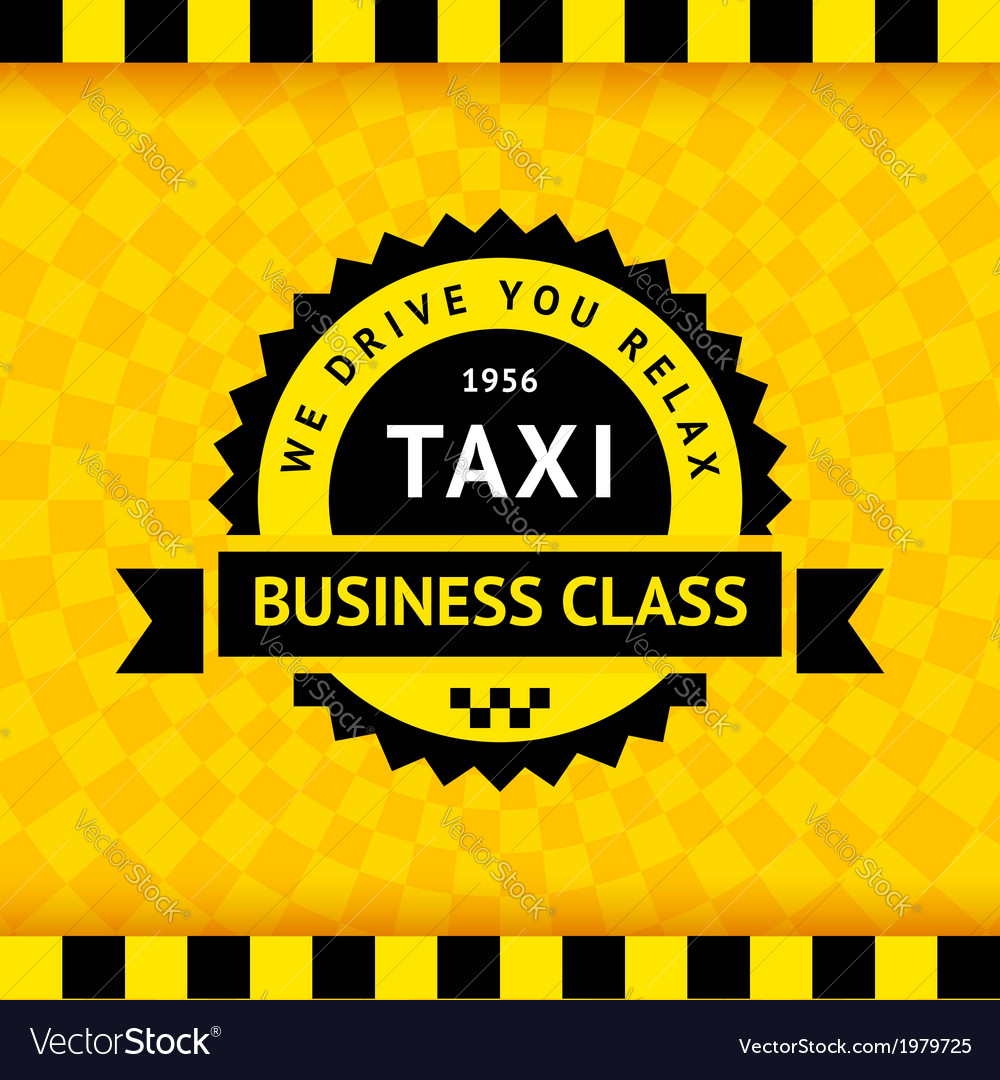Taxi symbol with checkered background - 21 vector | Price: 1 Credit (USD $1)