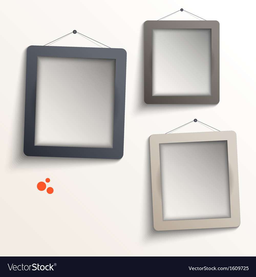 White frames vector | Price: 1 Credit (USD $1)