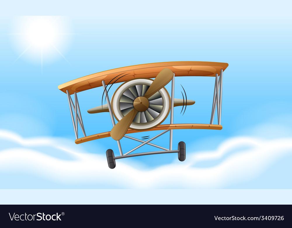A vintage propeller vector | Price: 1 Credit (USD $1)