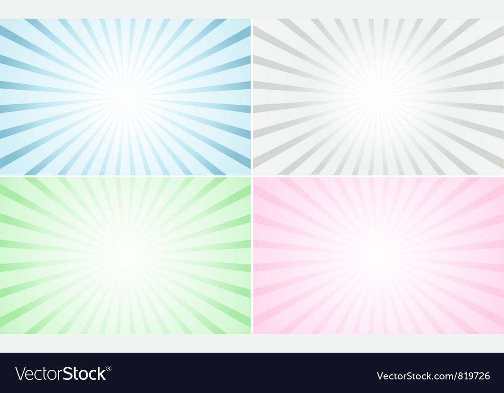 Pastel abstract rays vector | Price: 1 Credit (USD $1)