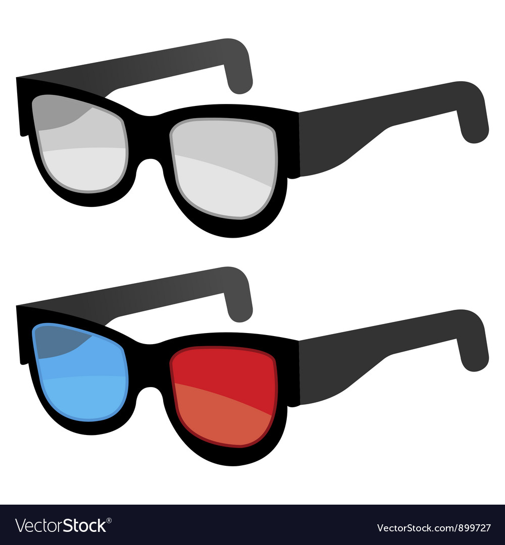 3d glasses vector | Price: 3 Credit (USD $3)