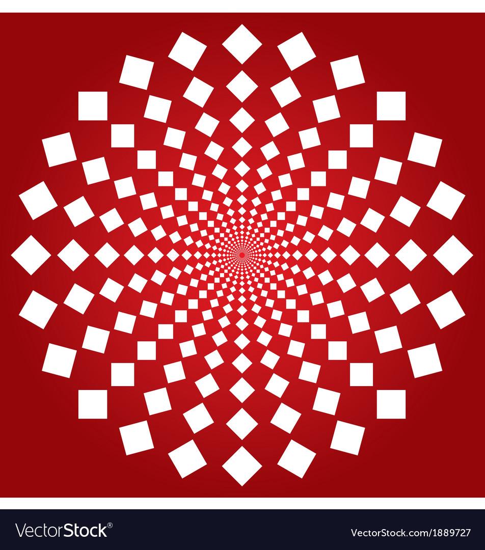 Spiral squares vector | Price: 1 Credit (USD $1)