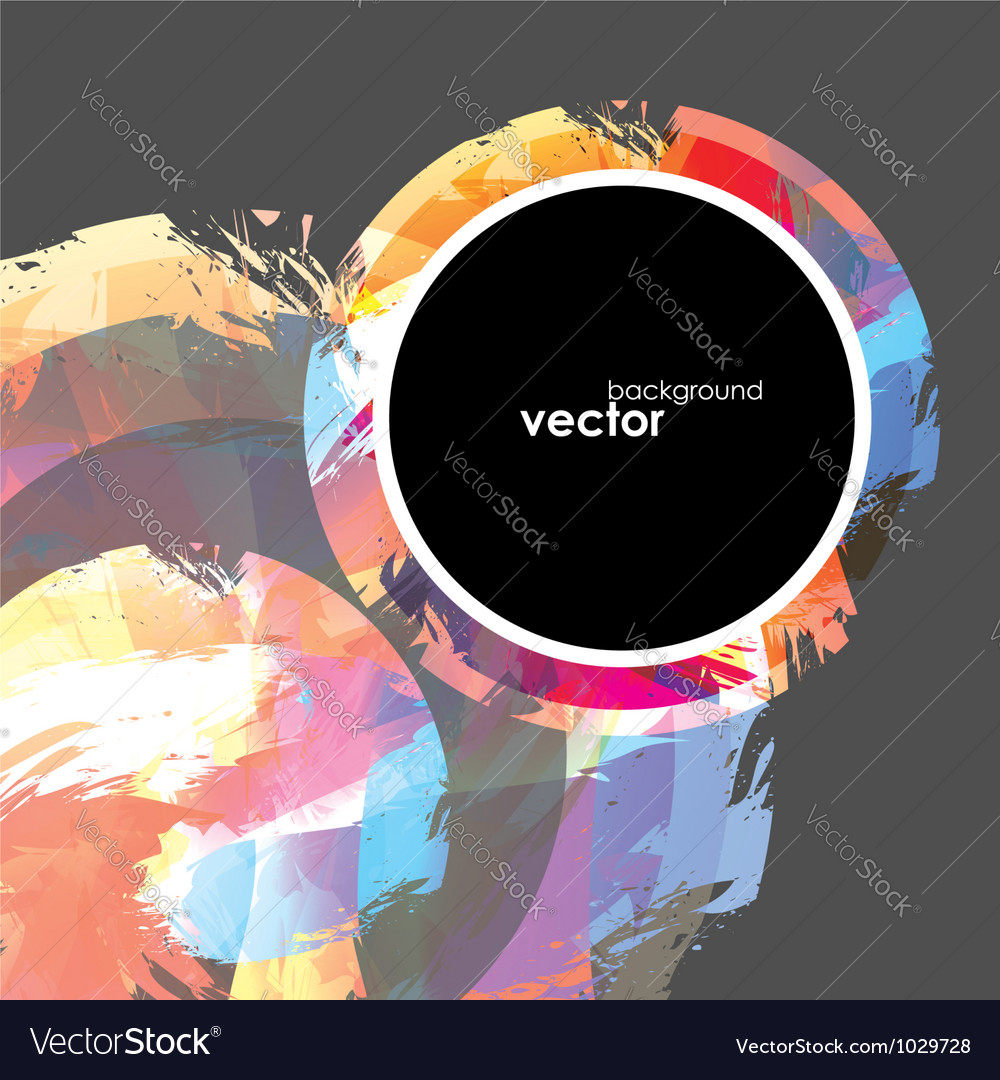 Abstract brush background vector | Price: 1 Credit (USD $1)
