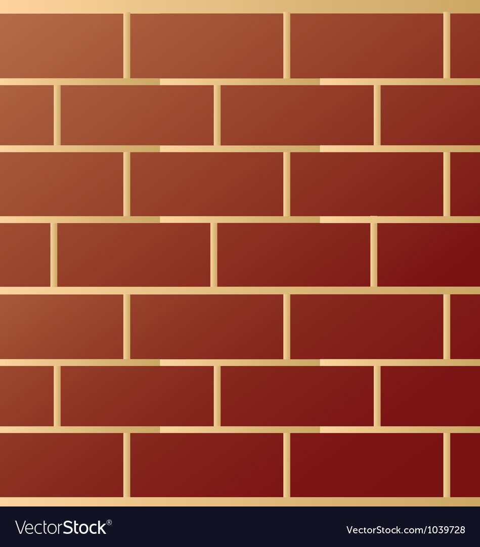 Brick modern wall pattern vector | Price: 1 Credit (USD $1)