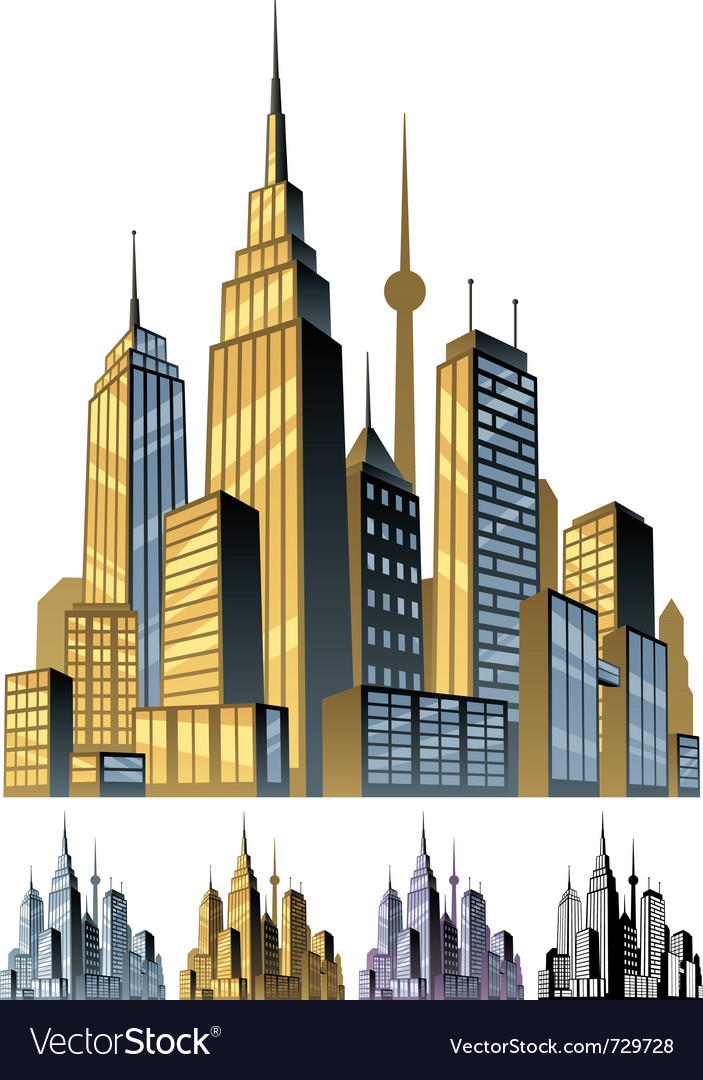 City vector | Price: 3 Credit (USD $3)