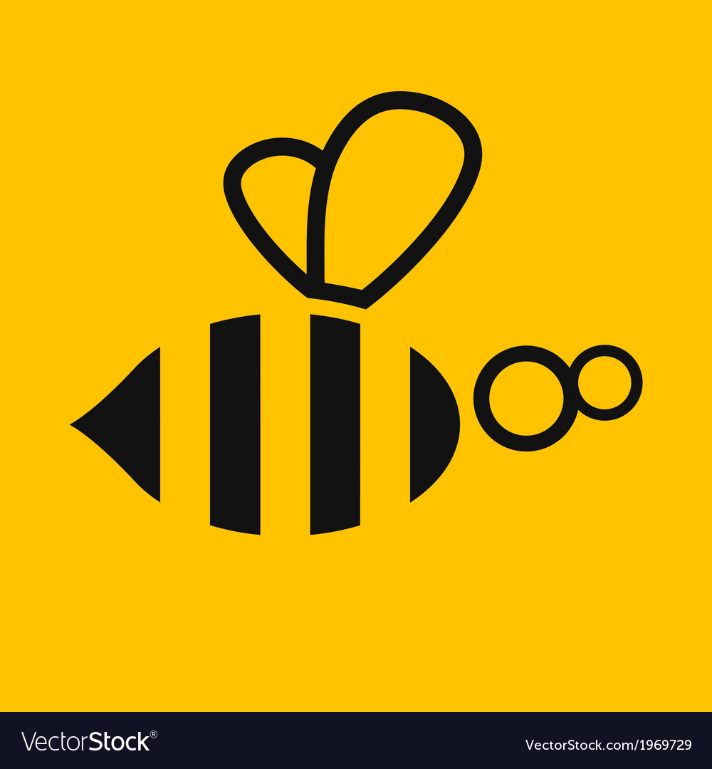 Abstract bee  stock vector | Price: 1 Credit (USD $1)