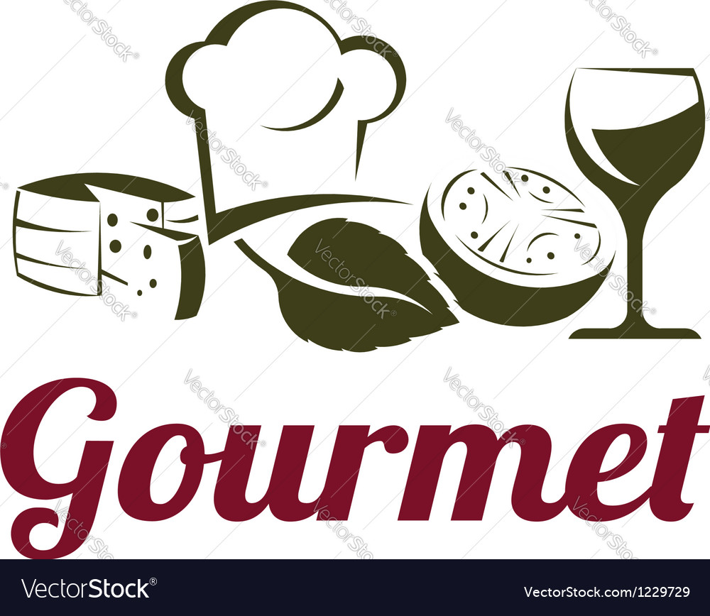 Gourmet cuisine vector | Price: 1 Credit (USD $1)