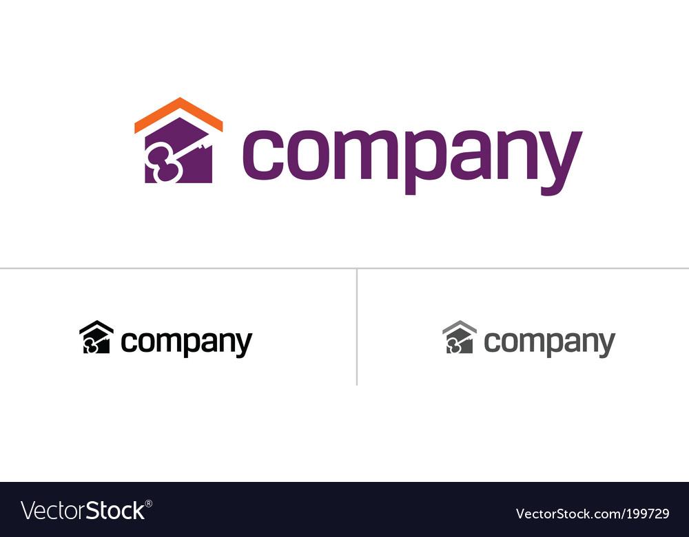 Home logo vector | Price: 1 Credit (USD $1)