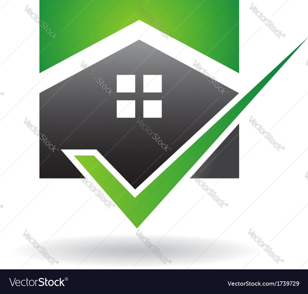 House check logo vector | Price: 1 Credit (USD $1)
