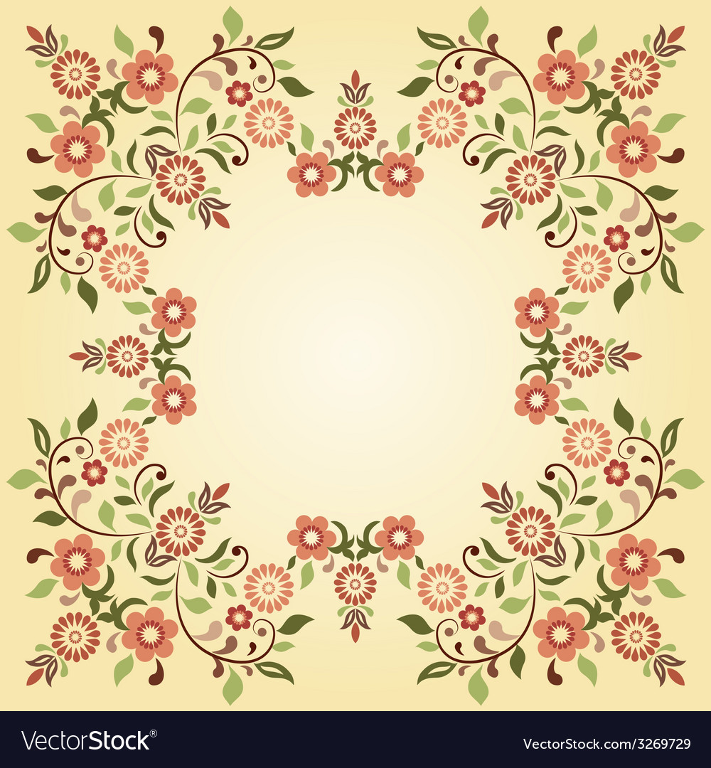 Ottoman motifs design series ninety five vector | Price: 1 Credit (USD $1)