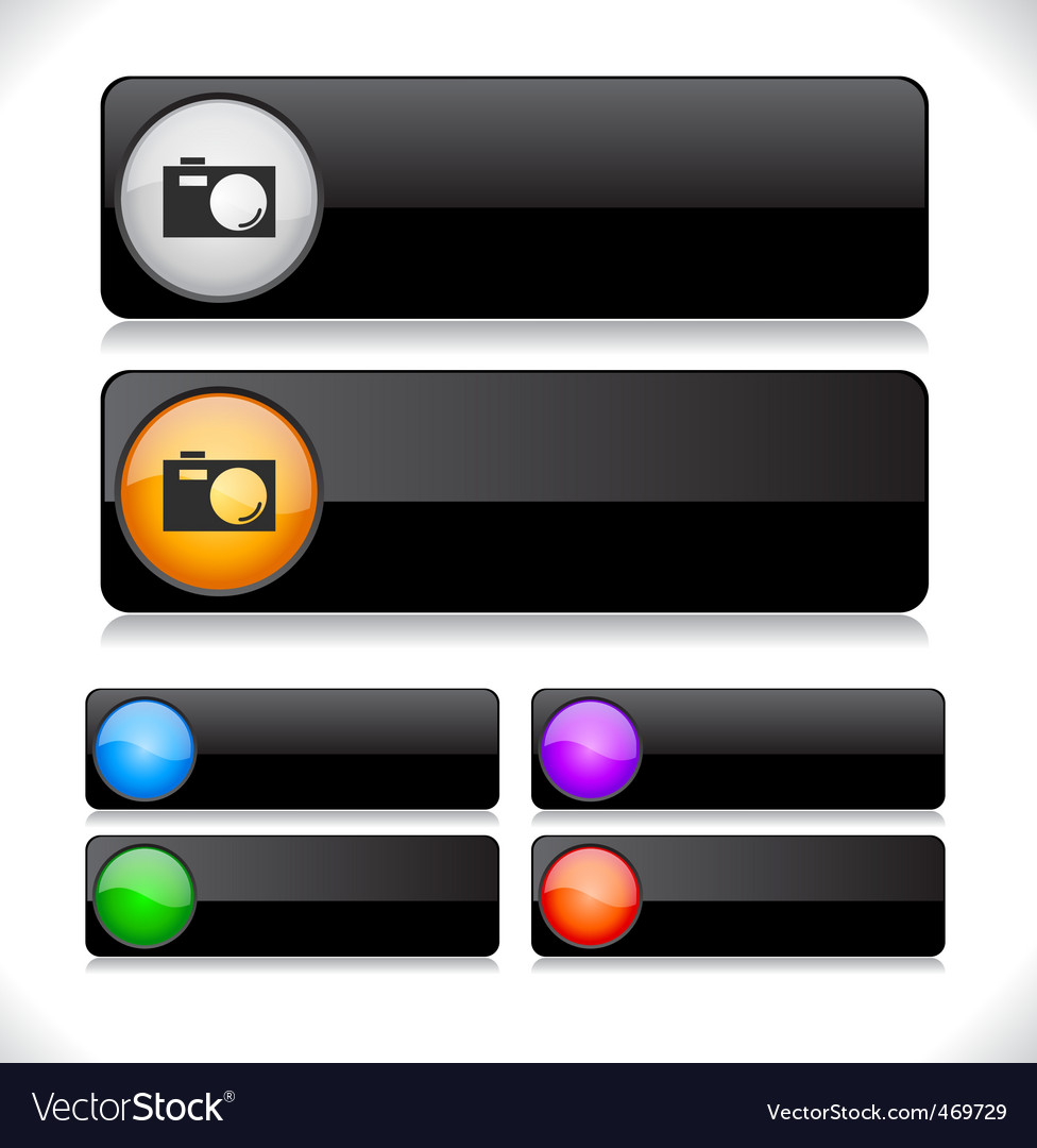 Website template buttons vector   Price: 1 Credit (USD $1)