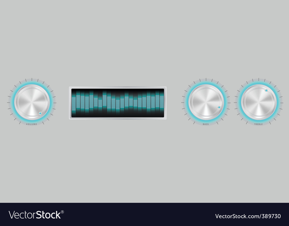 Amplifier icon vector | Price: 1 Credit (USD $1)