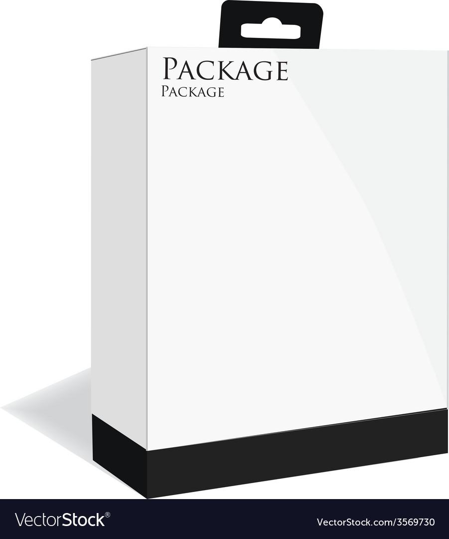 Black software box vector | Price: 1 Credit (USD $1)