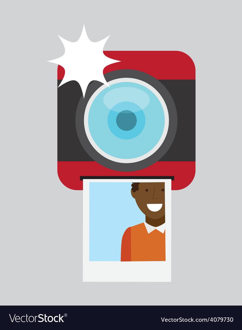 Camera photographic vector | Price: 1 Credit (USD $1)