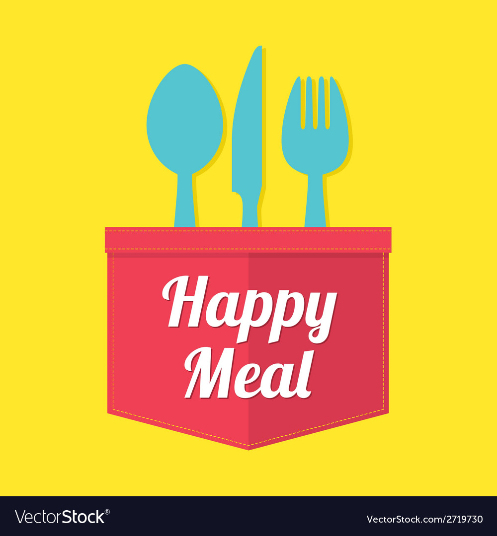 Happy meal vector | Price: 1 Credit (USD $1)