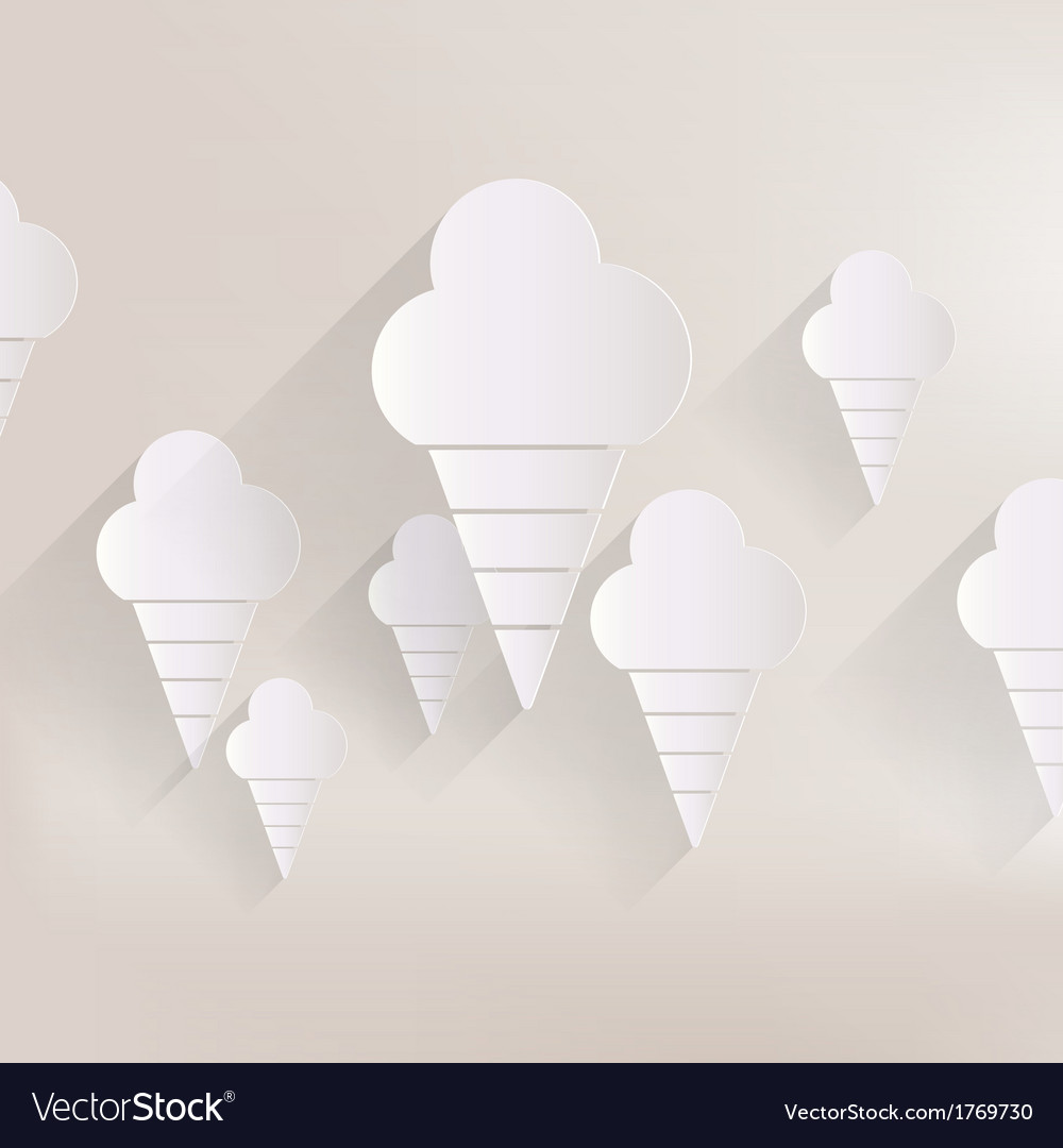 Ice cream web icon vector   Price: 1 Credit (USD $1)