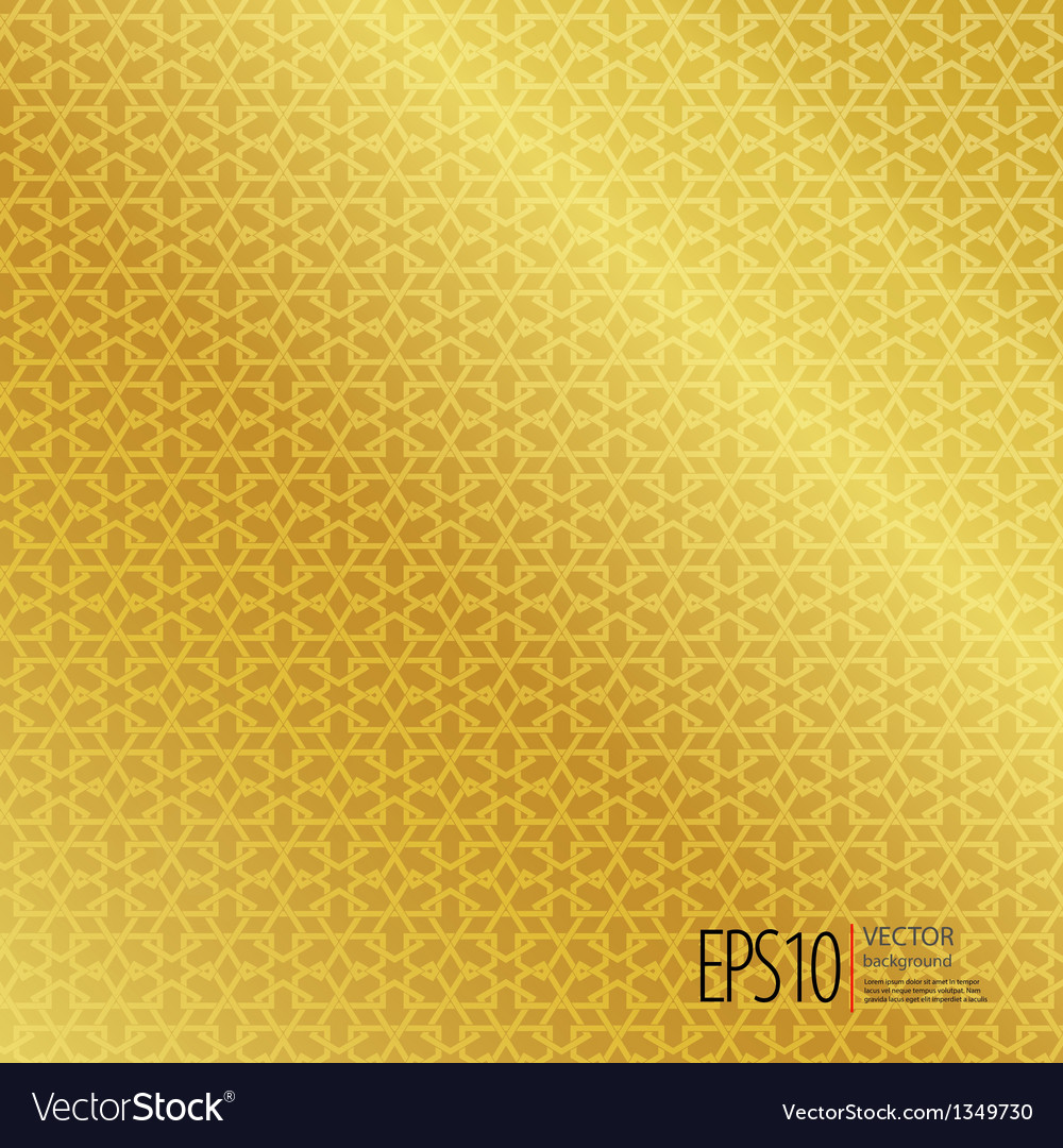 Seamless islamic background vector | Price: 1 Credit (USD $1)