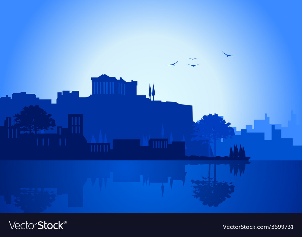 Athens vector | Price: 1 Credit (USD $1)