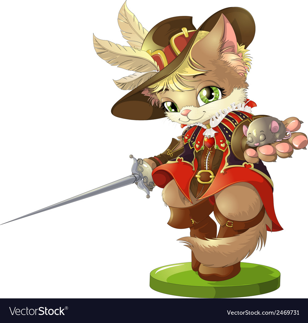 Cat and boots2 vector   Price: 1 Credit (USD $1)