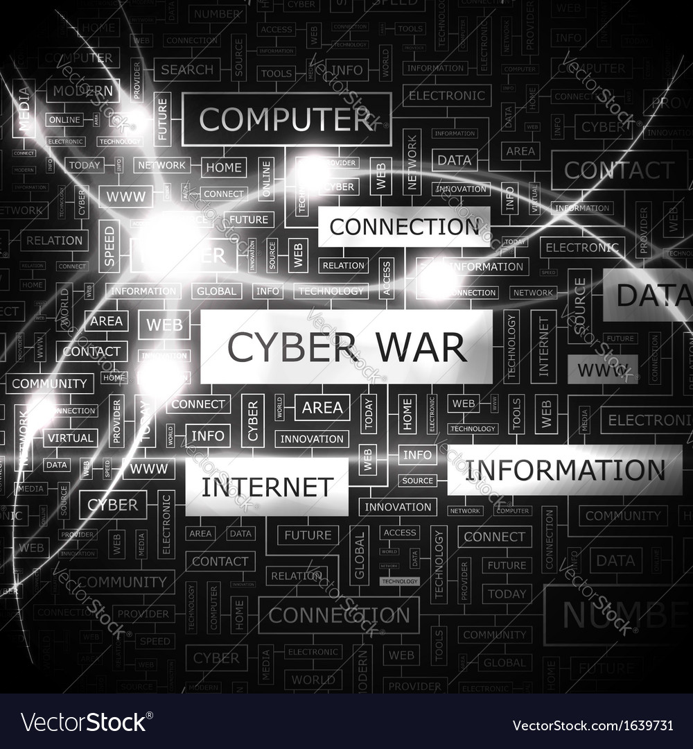Cyber war vector | Price: 1 Credit (USD $1)