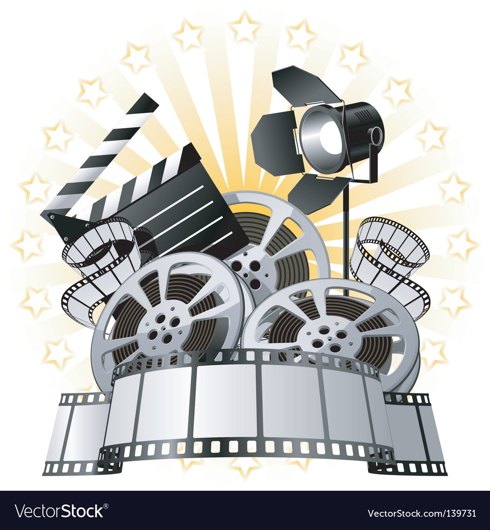 Film premiere vector | Price: 1 Credit (USD $1)