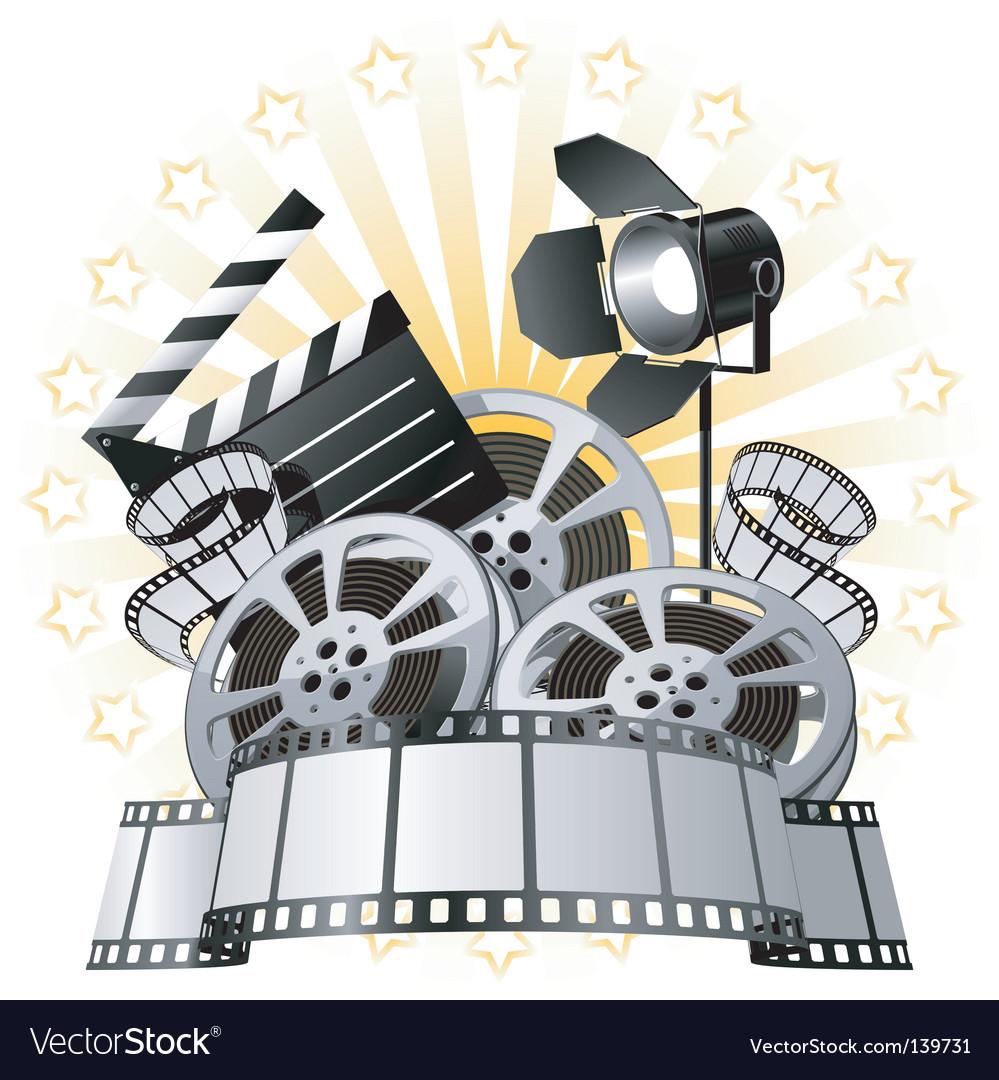 Film premiere vector | Price: 1 Credit (USD $1)
