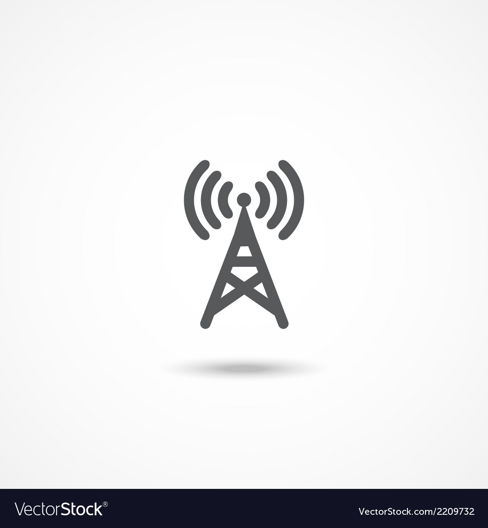 Antenna icon vector | Price: 1 Credit (USD $1)