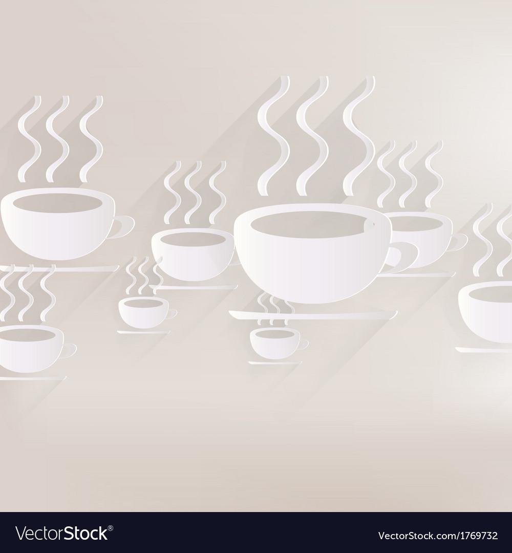 Hot drink web icon vector | Price: 1 Credit (USD $1)