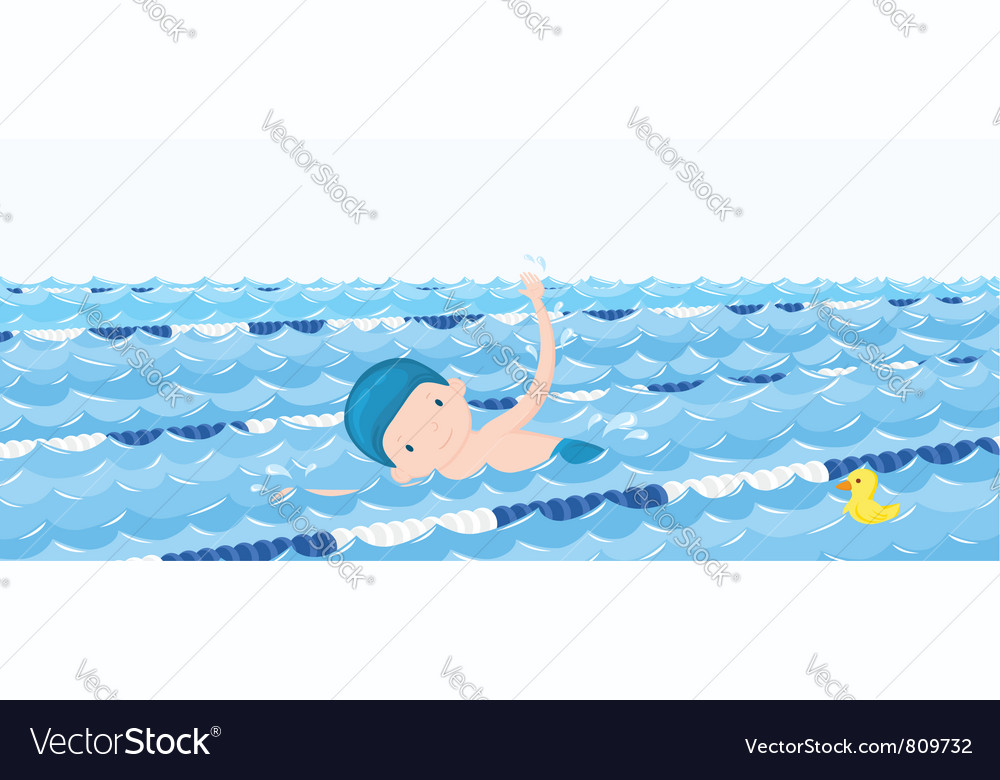 Swimming pool vector | Price: 3 Credit (USD $3)