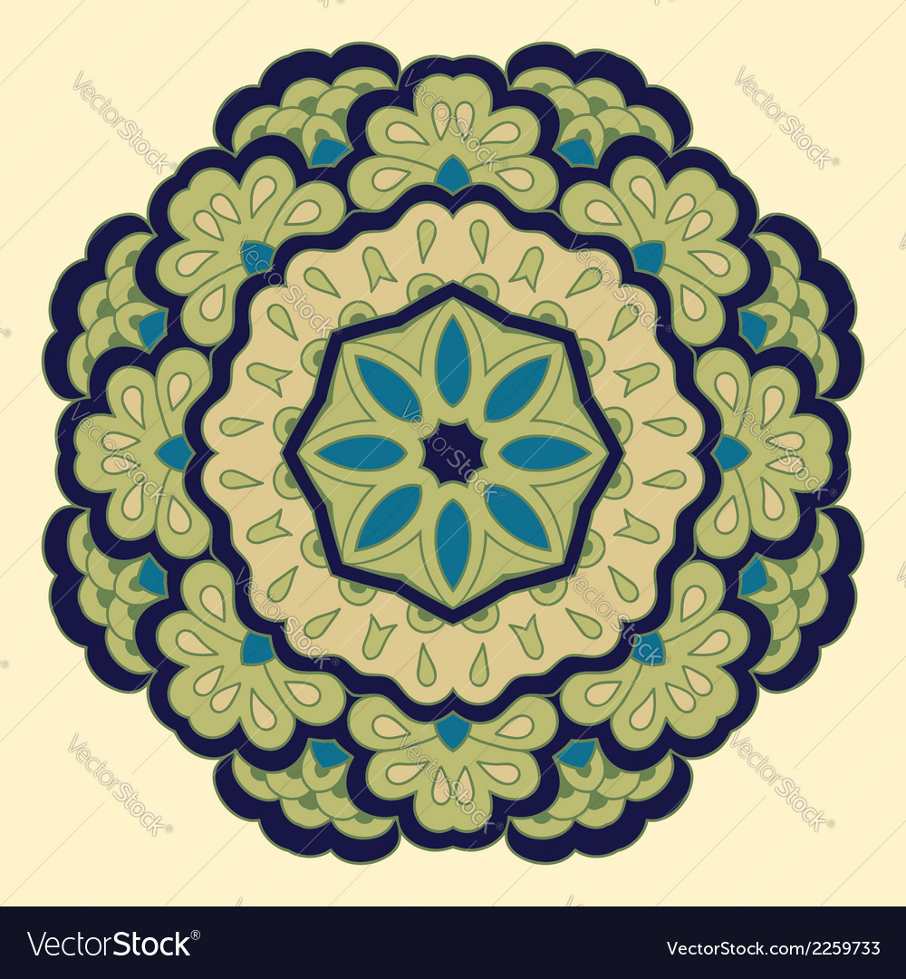 Arabesque decorative element vector | Price: 1 Credit (USD $1)