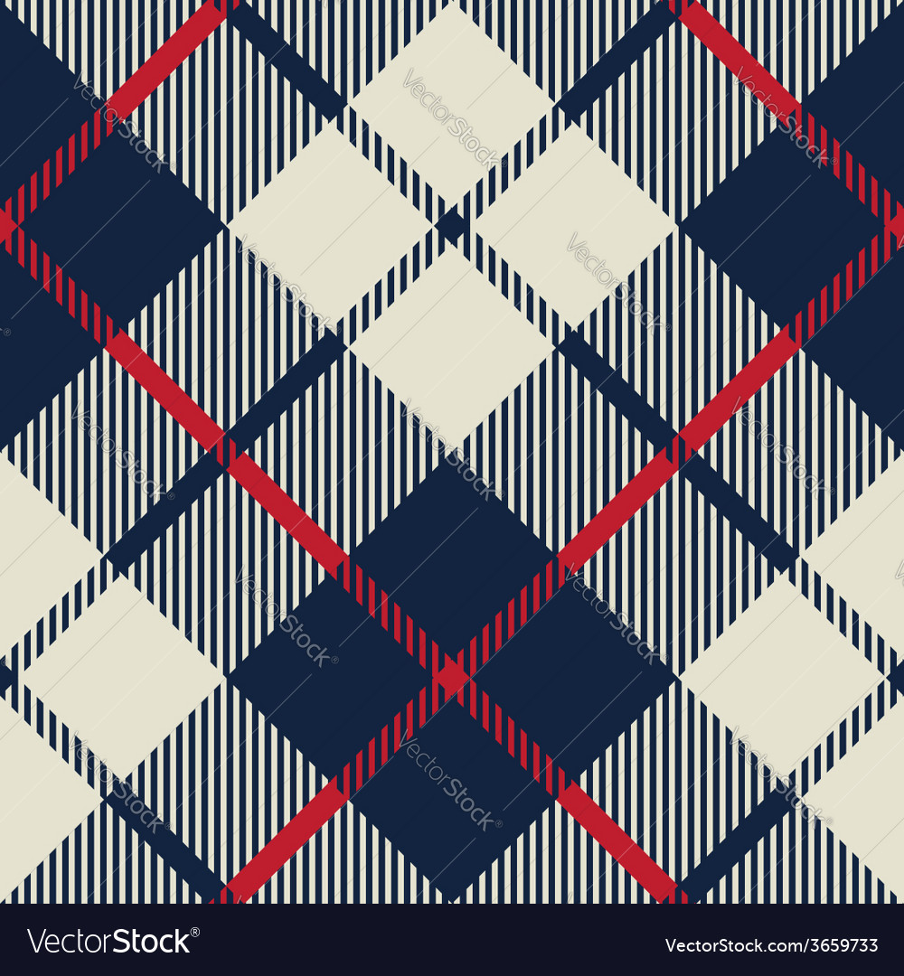 Blue and beige fabric texture diagonal pattern vector | Price: 1 Credit (USD $1)