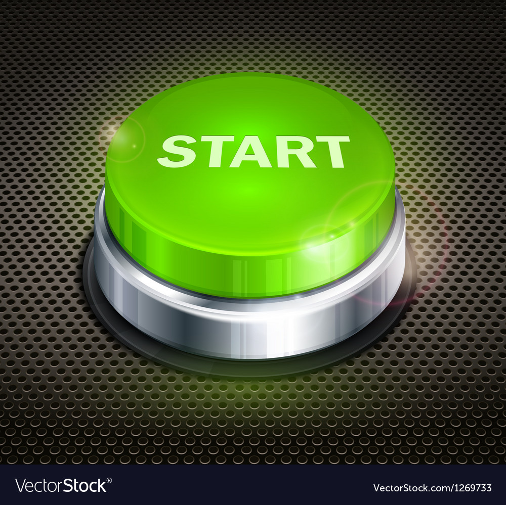 Button start vector | Price: 1 Credit (USD $1)