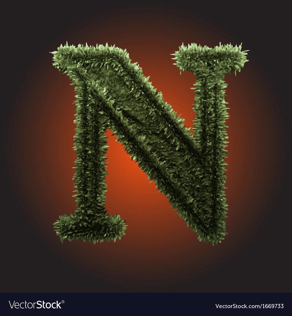 Grass figure vector | Price: 1 Credit (USD $1)