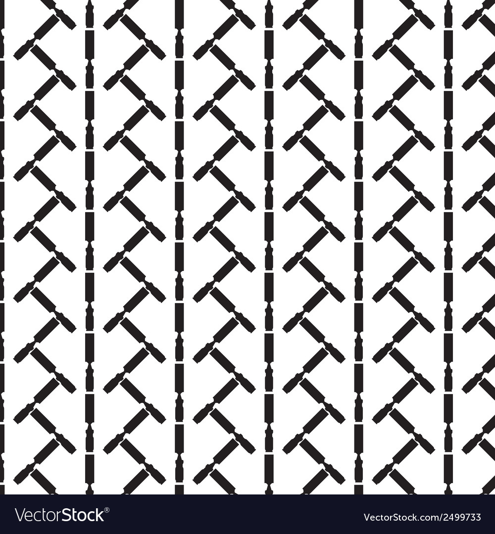 Seamless pattern background of chisel vector | Price: 1 Credit (USD $1)