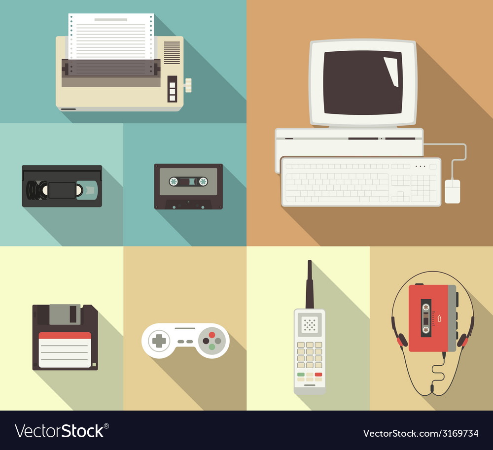 Back to nineties vector | Price: 1 Credit (USD $1)