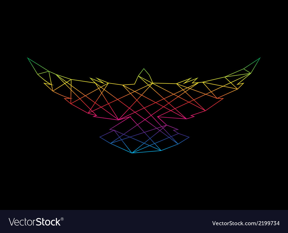 Bird abstract vector | Price: 1 Credit (USD $1)