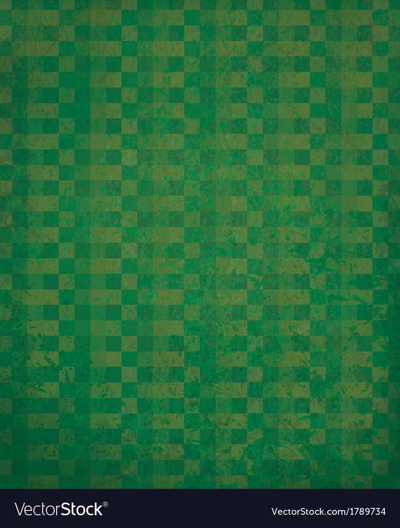 Green checked pattern vector | Price: 1 Credit (USD $1)