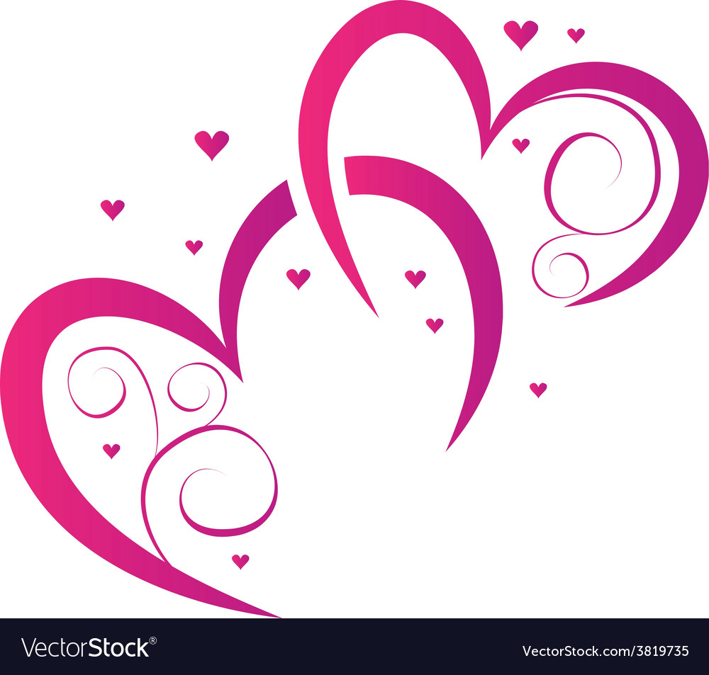 Elements for design for valentines day vector | Price: 1 Credit (USD $1)