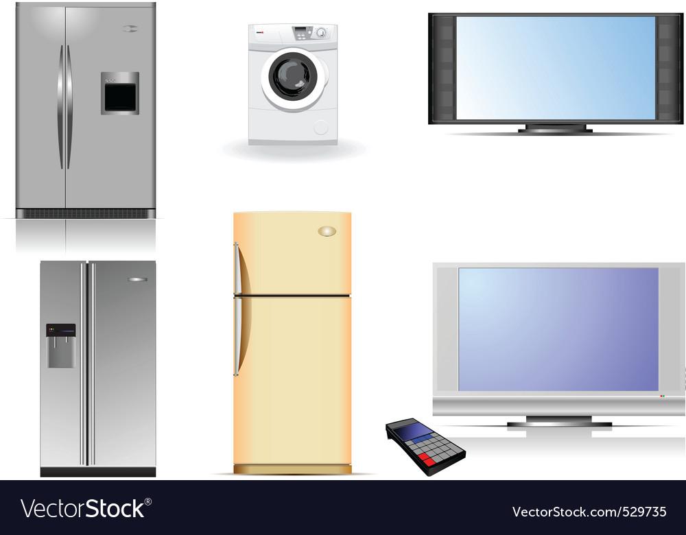 Housing equipment vector | Price: 1 Credit (USD $1)