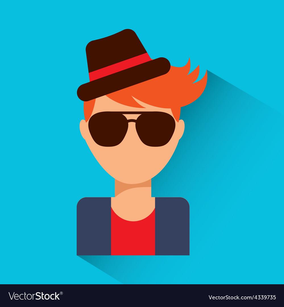 Person avatar vector | Price: 1 Credit (USD $1)