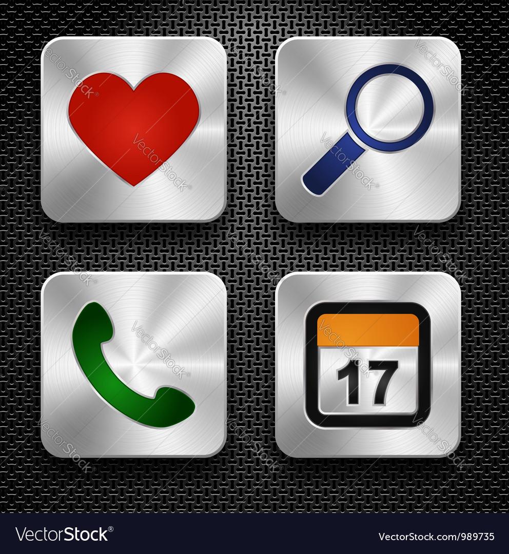 Social media icons vector | Price: 3 Credit (USD $3)
