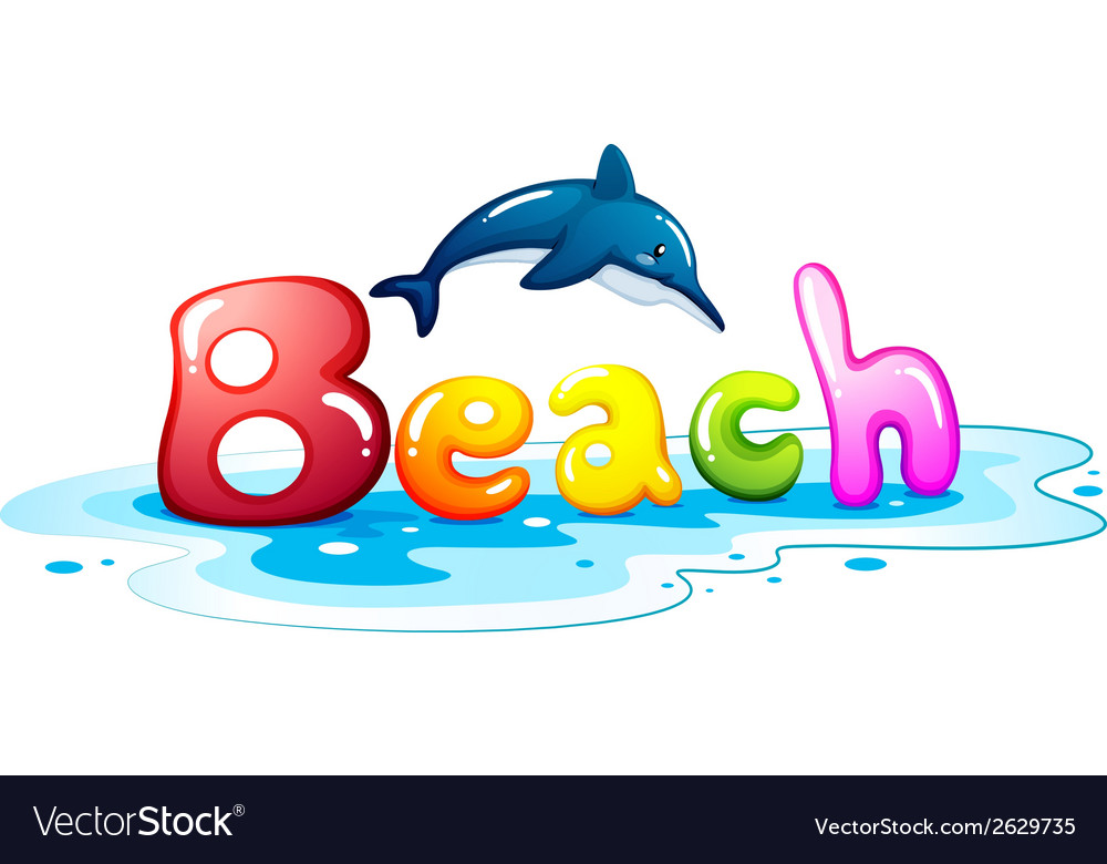 Summer escapade at the beach vector | Price: 1 Credit (USD $1)