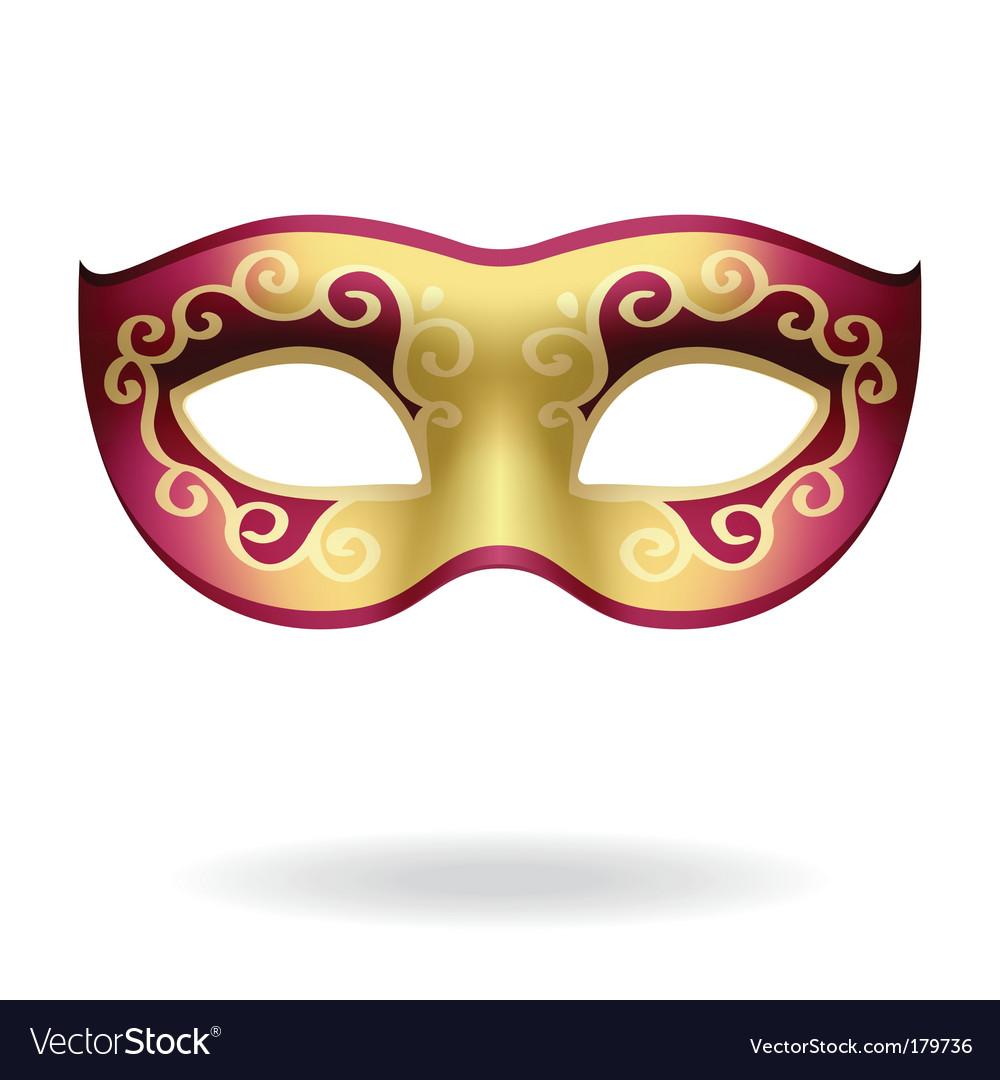 Carnival mask vector | Price: 1 Credit (USD $1)