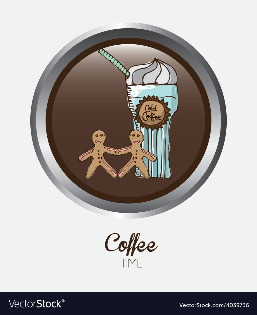 Coffee time vector | Price: 1 Credit (USD $1)